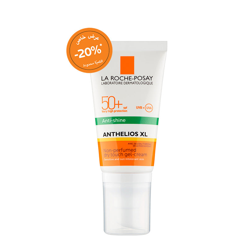 Anthelios Xl Spf 50+ Dry Touch Gel-Cream Anti-Shine  50ML 20% OFF