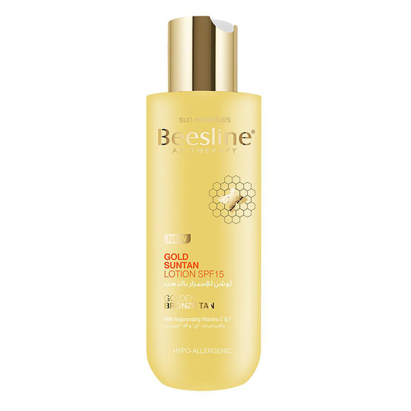 Gold Suntan Lotion SPF15	200ML