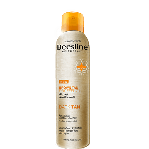 Brown Tan Dry Feel Oil