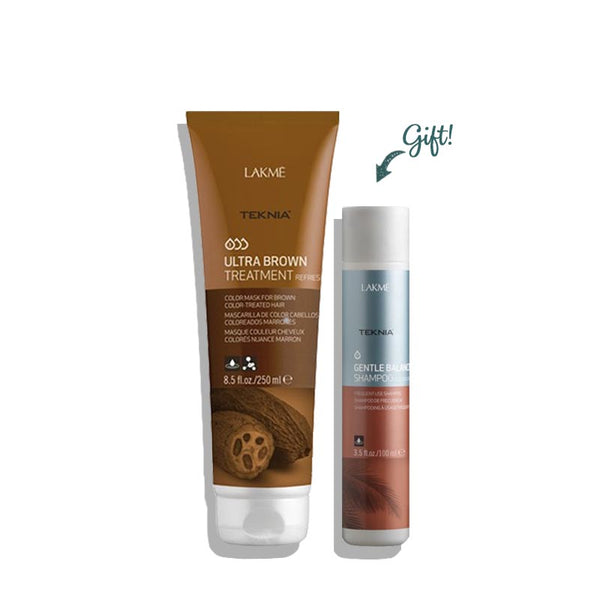 Ultra Brown Treatment Refresh 250ML + Gentle Balance Shampoo 100ml (Gift)