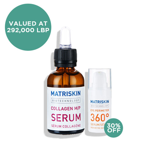 Collagen M/P Serum 30ML+ Eye Perimeter 360 Serum 15ML (30% Off)