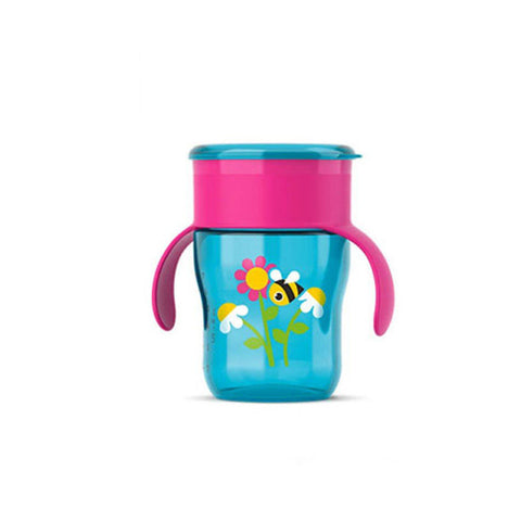 My First Grown Up Cup 260ml 9m+ - Red and Purple