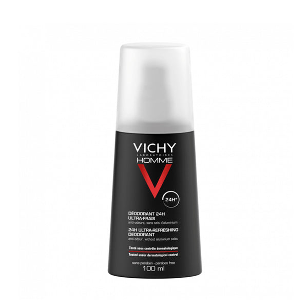 Vichy Homme Ultra-Fresh Deodorant Spray 100ML