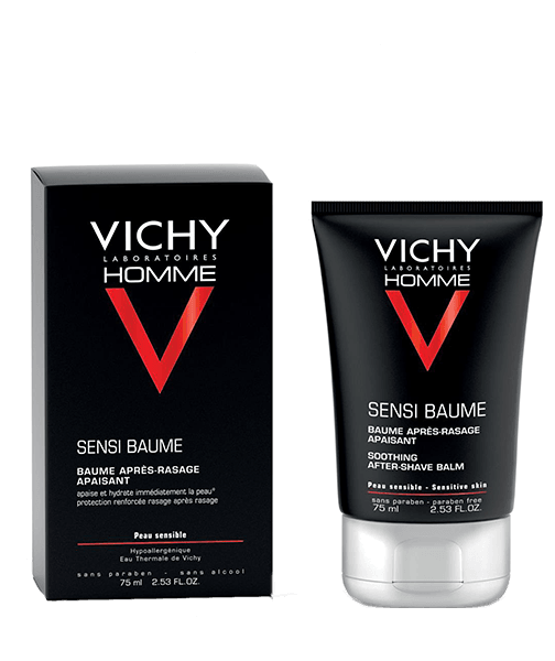 Vichy Homme Mineral Sensi-Balm Ca. After Shave Balm Tonic 75ML