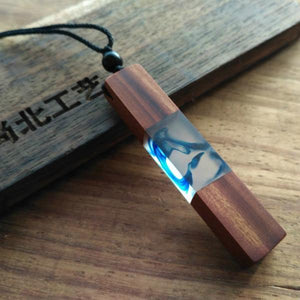 StreetTemple The Dreamer Wood Resin Necklace