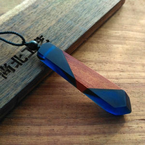 StreetTemple The Nautic Wood Resin Necklace
