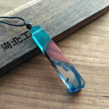 StreetTemple The Wanderer Wood Resin Necklace
