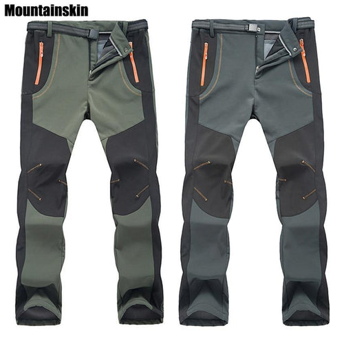 Winter Men Women Outdoor Hiking Pants