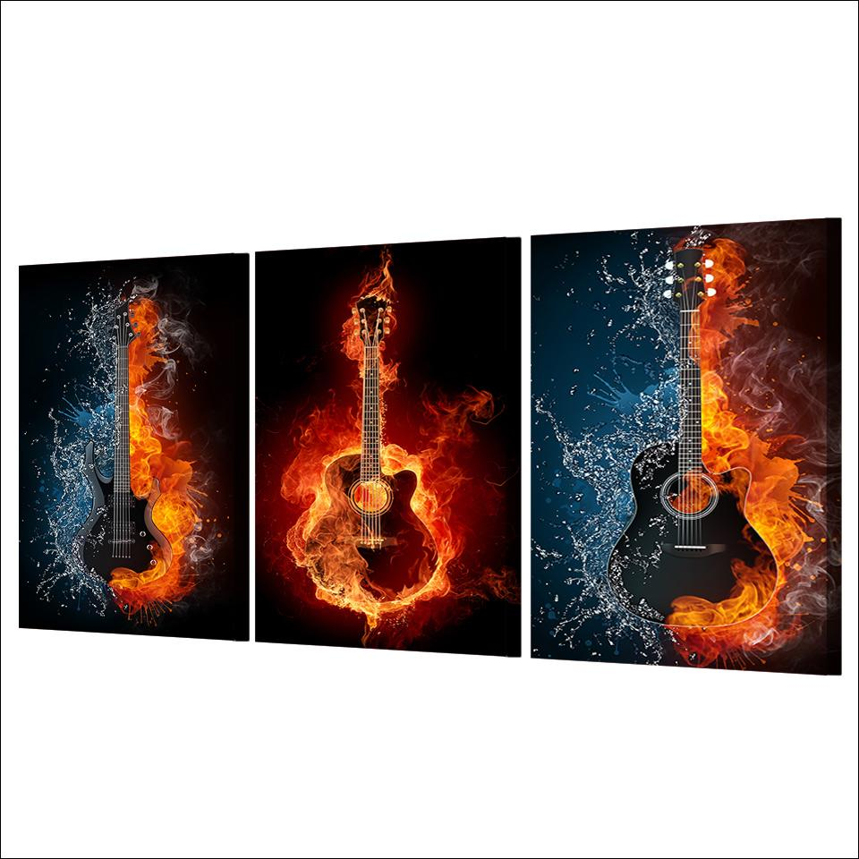 Fire/Water Guitars