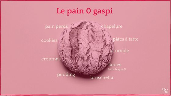 Pain, objectif 0 gaspi