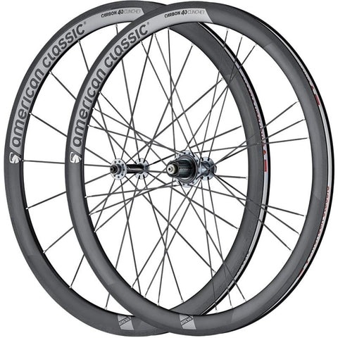 Roues Carbone AMERICAN CLASSIC 40 Clincher