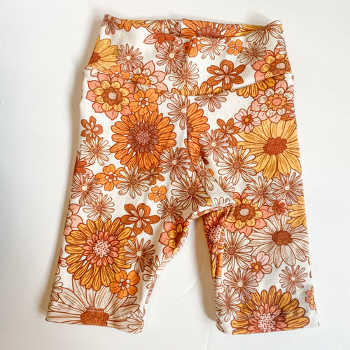 flower power bike shorts