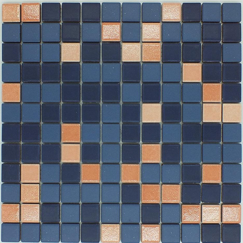 Mosaico Deep Sea | 2.5x2.5cm - Outlet Della Ceramica | Ceramica Outlet