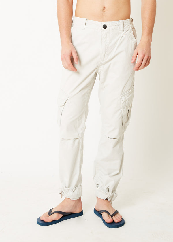 Cargo Utility Trousers Winter White