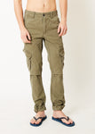 Cargo Utility Trousers Chocolate