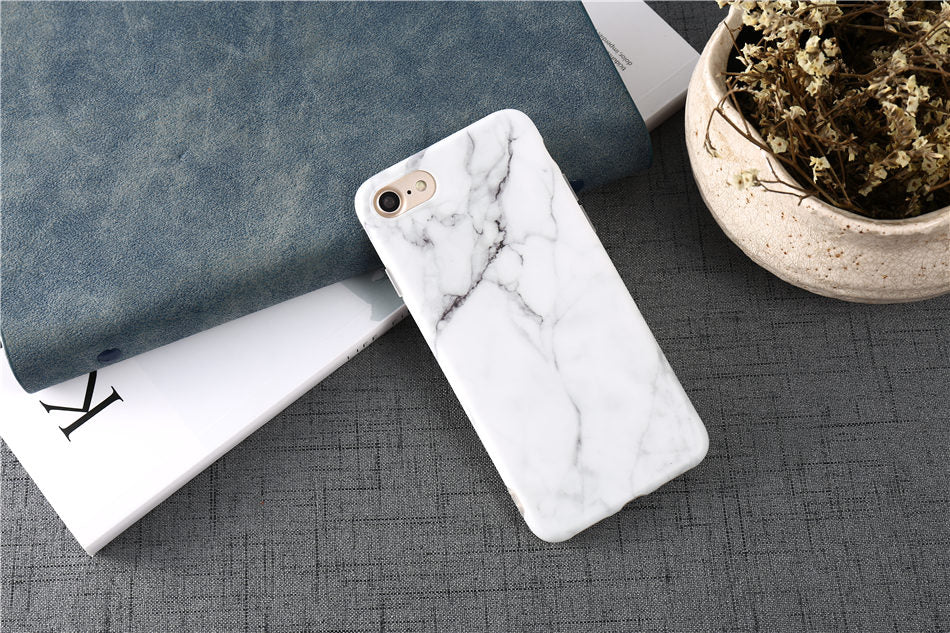 Funda para iPhone y Samsung S7 edge Mármol