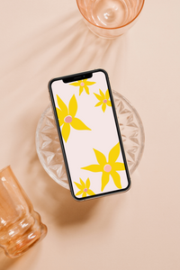 TGR x Oh Sierra Exclusive: Sunflower Printable + Digital Wallpaper