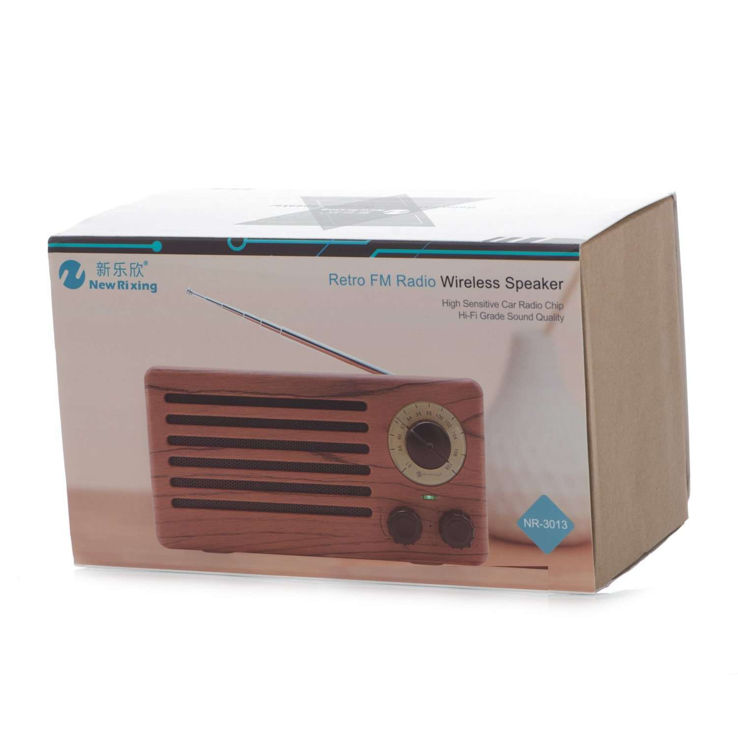 e49611f6f Retro FM Radio Bluetooth Speaker NR-3013