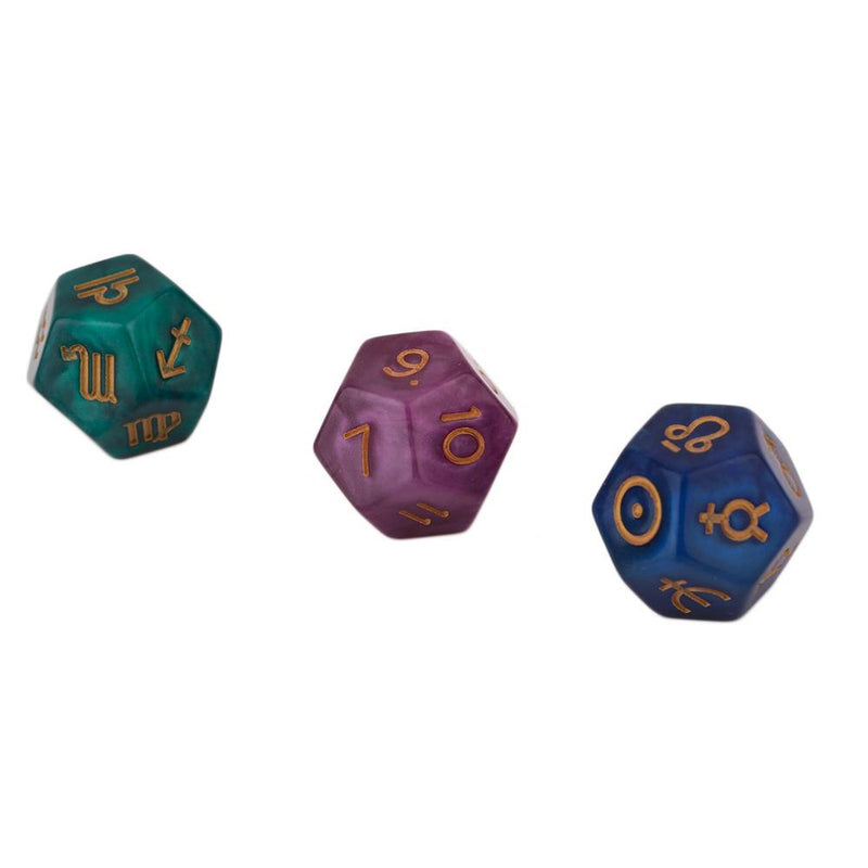Astrological Dice (3pc)