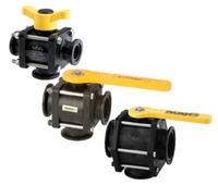3 WAY BOTTOM LOAD FLANGE VALVES