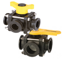 3 WAY SIDE LOAD FLANGE VALVES