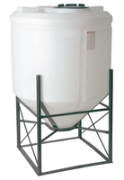 *CONE BOTTOM TANK;500 GAL, 45 DEGREE