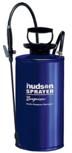 HUDSON - BUGWISER GALVANIZED STEEL SPRAYER - 2 GAL