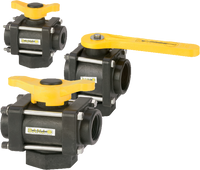 3 WAY BOTTOM LOAD VALVES
