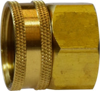 BRASS FEMALE GARDEN HOSE X FEMALE PIPE THREAD