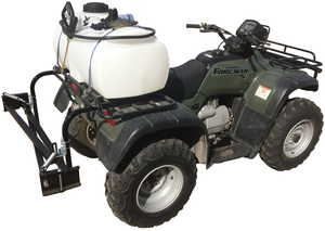 * 25 GAL ATV SPRAYER W/12' BOOM
