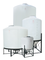 *CONE BOTTOM TANK;2600 GAL,30 DEGREE