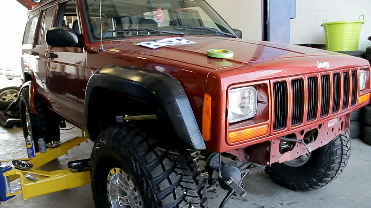 X Max Fender Flare Instructions Notch Customs Installing Jeep Flares Figure 4