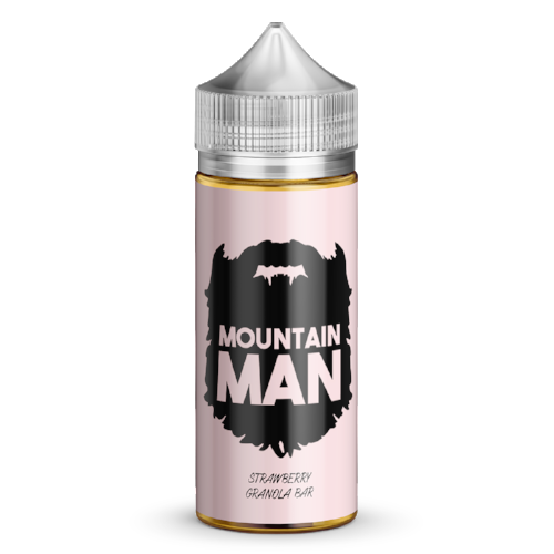 Mountain Man : Strawberry Granola Bar (100ml)