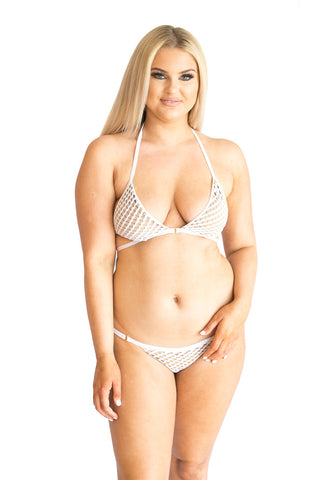 Ava Wrap Triangle Bikini Top - Southern Sugaring - Beach Bunny Swim
