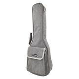 CLOUDMUSIC Hawaiian Ukulele Bag Ukulele Case With 3D Bag ( Grey)