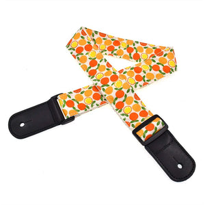 CLOUDMUSIC Ukulele Strap For Ukulele Soprano Concert Tenor Baritone Hawaii Summer Beach Tropical Fruits (Orange+Apple)CLOUDMUSIC Ukulele Strap For Ukulele Soprano Concert Tenor Baritone Hawaii Summer Beach Tropical Fruits (Orange+Apple)