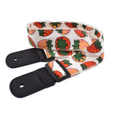 CLOUDMUSIC Ukulele Strap For Ukulele Soprano Concert Tenor Baritone Hawaii Summer Beach Tropical Fruits (Strawberry)