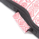 CLOUDMUSIC Ukulele Case and Matched Strap Series ( Christmas Red Pattern)
