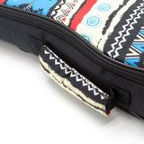 CLOUDMUSIC Ukulele Case African Protrait Ukulele Bag 10mm Padded