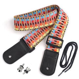 CLOUDMUSIC Ukulele Strap Hawaiian Vintage Ethnic Cotton   S92