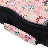 CLOUDMUSIC Ukulele Case Kitten Cat Pink Cute Animal Case For Kids Girls (Cat)
