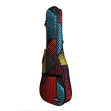CLOUDMUSIC National Hawaiian Ukulele Bag Ukulele Case (Dark Blue)