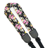 CLOUDMUSIC Colorful Hawaiian Jacquard Woven J Hook Clip On Ukulele Strap Ukulele Belt For Soprano Concert Tenor Ukulele