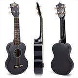 CloudMusic  Soprano High Gloss Fun Color Ukulele Kit With Ukulele Gig Bag Ukulele Picks Gift Box