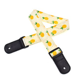 CLOUDMUSIC Ukulele Strap For Ukulele Soprano Concert Tenor Baritone Hawaii Summer Beach Tropical Fruits (Pineapple)