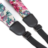CLOUDMUSIC Colorful Hawaiian Jacquard Woven J Hook Clip On Ukulele Strap Ukulele Belt For Soprano Concert Tenor Ukulele (Scarf Style 11)