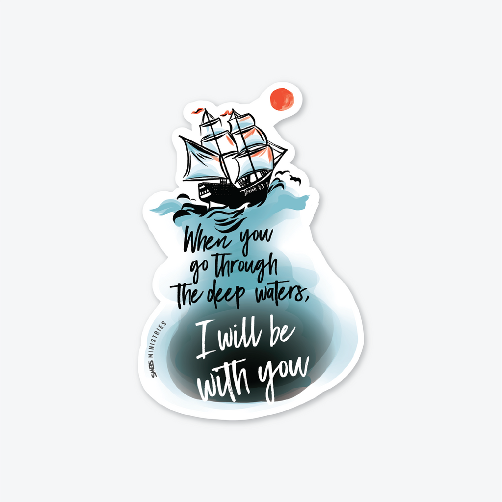 Deep Waters Sticker
