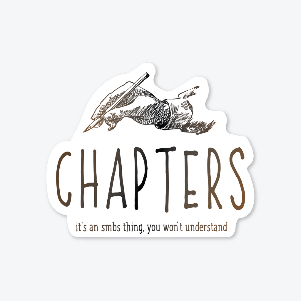 Chapters Sticker