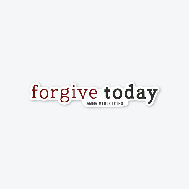 Forgive Today Sticker