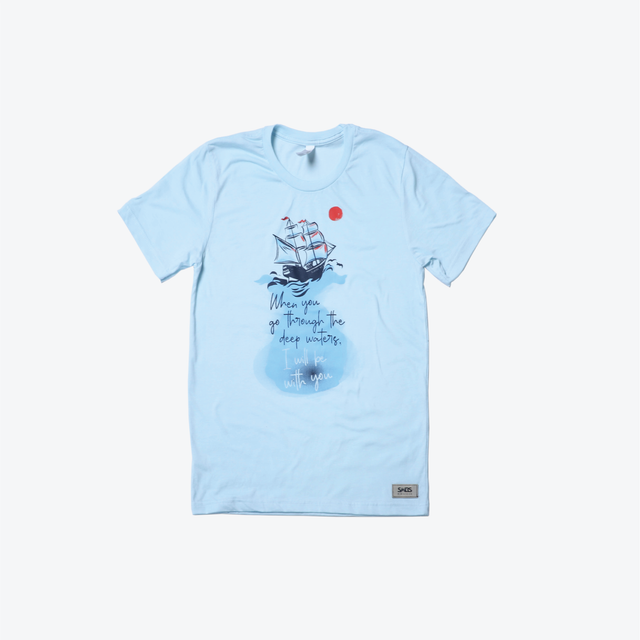 Deep Waters-Shirt Blue